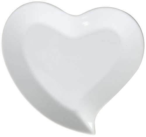 Heart Shaped Plates, package of 4 ()