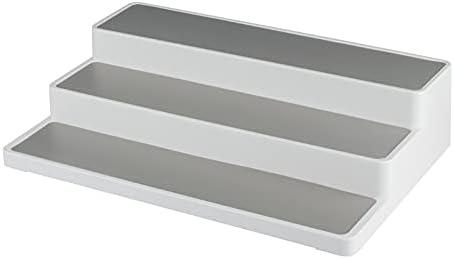 EDGEluve Kitchen Cabinet Countertop Spice Pantry Tiered Rack Organizer.