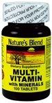 Nat B Multivitamin & Min Tb 100