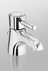 (Toto TL970SDLQ#PN 1.5 GPM Guinevere Single Handle Lavatory Faucet, Polished Nickel)