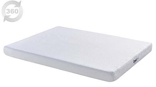 Classic Brands Memory Foam Twin Mattress