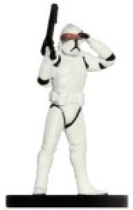 Star Wars Miniatures: Clone Trooper with Night Vision # 22 - Galaxy at War