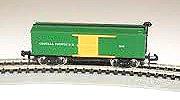 mer Box Car Freight train car -