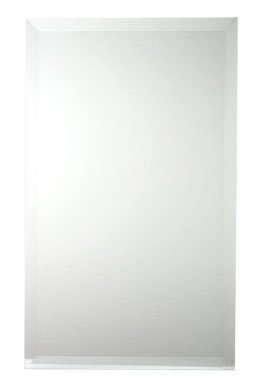 Zenith M119 White Beveled Swing Door Medicine Cabinet by Zenith Metal by Zenith