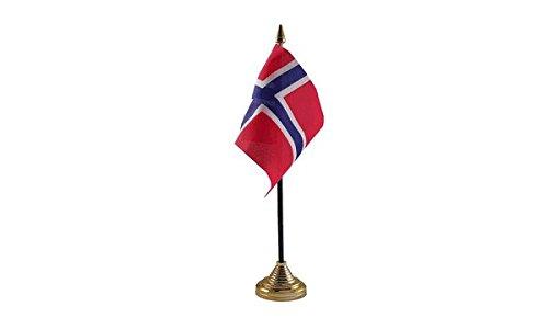 Las Banderas Noruega bandera de mesa: Amazon.es: Jardín