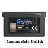 - 32 Bit Handheld Console Video Game Cartridge Card Hamtaro Rainbow Rescue Eu Version X-Men 2 Wolverine