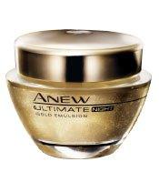 Avon Rich Moisture Cream (AVON ANEW Ultimate Night Gold Emulsion- Extra Rich 1.7 Fl. Oz. Cream- NEW)