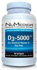 D3 5000 Iu Soy Free 90 Softgels by NuMedica by NuMedica