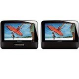 Philips PD7012 7'' Widescreen Portable DVD Player with Dual Screens