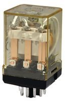 IDEC RR3PA-ULAC120V POWER RELAY, 3PDT, 120VAC, 10A, PLUG IN