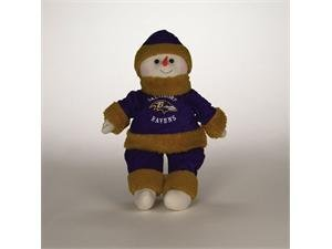 Baltimore Ravens Plush Snowflake Friend (22 Nfl Snowflake)