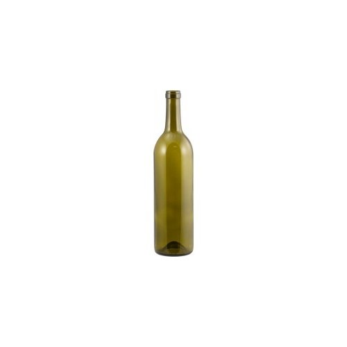 Eagle B373 Wine Bottles, 750 mL Antique Green Claret, Punted, Antique Green (Pack of 12)