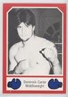 Dominick Carter (Trading Card) 1986 Brown's Boxing Cards Red Border - [Base] - Brown Dominick