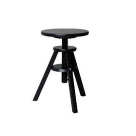 Svenerik Ikea Black Stool Piano Solid Wood Music Stool