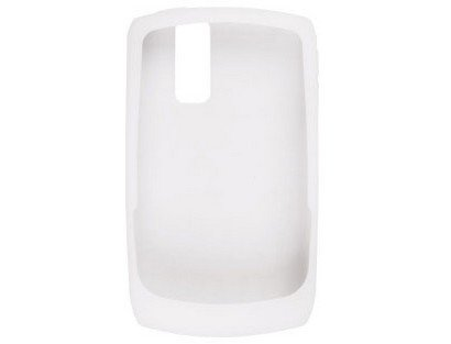 Skin for BlackBerry Curve 8350 - Rubber - White