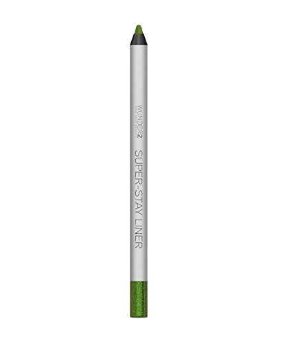 WUNDER2 Super-stay Liner Long-Lasting & Waterproof Colored Eyeliner, Glitter Green Apple, 1.2 Gram