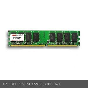 DMS Compatible/Replacement for Dell Y5912 OptiPlex GX520 512MB DMS Certified Memory DDR2-400 (PC2-3200) 64x64 CL3 1.8v 240 Pin DIMM - DMS