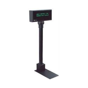 Logic Controls PD3000-U-BK PD3000 POLE DISPLAY BLACK 5MM GRN 2X20CHARS USB INTF 120V ADAPTER