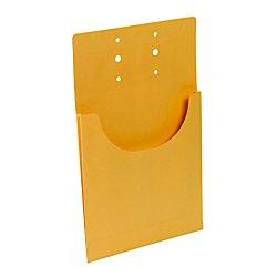 Smead File Retention Jacket, 3/4'' Expansion, Letter/Legal, Kraft, 100 per Carton (68196)