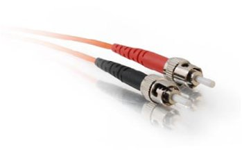 810-112-006 - Quiktron 62.5/125 um ST-ST Duplex MM Fiber Assembly, 2 Meter, Pack of 2 ()