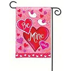 Magnet Works MAIL31122 Be Mine Bird Garden Flag
