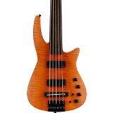 NS Designs NS CR5-BG-AMS-FL Bass Guitar, Amber Satin, Fretless
