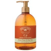 Natures Gate Organics Asian Pear and Red Tea Liquid Soap, 12 Ounce -- 6 per case.