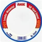Ande PCW50-40 Mono Leader Wrist, 50-Yard Spool, 40-Pound For Sale