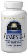 Vitamin D-3 1000 IU Source Naturals, Inc. 100 Softgel
