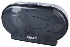 (Renown REN05150-IB Toilet Tissue Dispenser, Twin Jr Jumbo, Black by Renown)