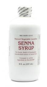 Senna Syrup 8 Oz