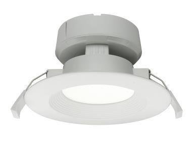 "4"" Inch J-Box LED Canless Downlight; 7W=65/75W Equivalent; 40,000 Life Hours; Dimmable to 5%; Wet Location Rated; 120V; 550 Lumens; CRI>80"