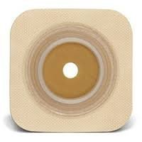Convatec 125263 - Sur-Fit Natura Stomahesive Flexible 4'' x 4'' Wafer Tan, 1.5'', 10/bx