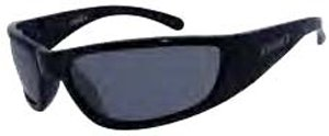 "DSO Eyewear ""GRILL"" High Performance Series Shiny Black - Smoke Lens"