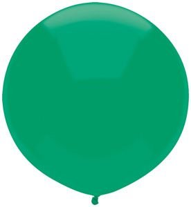 17'' Deep Jade Outdoor Latex Balloons - Pack of 5 by Single Source Party Supplies