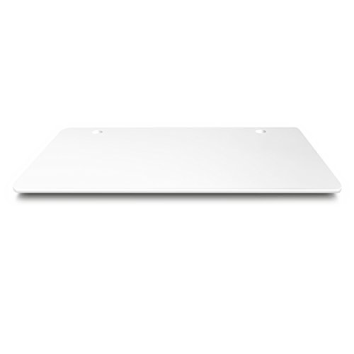 August Desk White Table Top | 48 1/8 W x 30 D x 7/8-Inch Thickness -