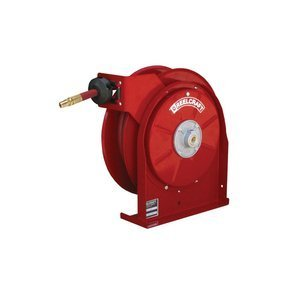 Reelcraft 5635 Olp 3 8 Inch By 35 Feet Spring Driven Hose Reel For Air Water By Reelcraft