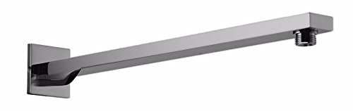 ALFI brand AB20WS-BN Brushed Nickel Square Wall Mounted 20In