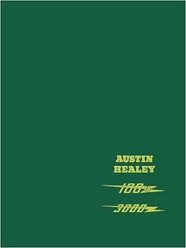 HEALEY SHOP MANUAL SERVICE REPAIR AUSTIN BOOK HAYNES 3000 100-6 WORKSHOP BIG