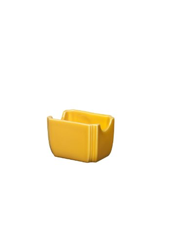 Fiesta 3-1/2-Inch by 2-3/8-Inch Sugar Packet Caddy, Marigold