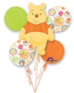 Anagram International Winnie The Pooh Welcome Bouquet, Multicolor (Pooh Flower)