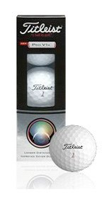 Titleist Pro V1x Golf Balls – Sleeve, 3 Balls, Outdoor Stuffs