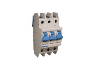 Mount Thermal Breaker - ALTECH 3DU2L L Series 2 A 3 Pole DIN Rail Mount Thermal Magnetic Circuit Breaker - 1 item(s)