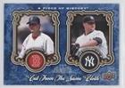 Cloths Chamberlain - Joba Chamberlain; Josh Beckett #440/999 (Baseball Card) 2009 Upper Deck A Piece of History - Cut from the Same Cloth #CSC-BC