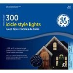 GE 300 Icicle Light, Frost Blue
