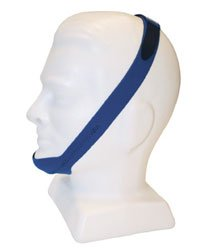 Chin Strap, Blue, Resmed, Closed Mouth posture, Relieves Snoring