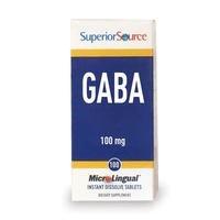 GABA (acide gamma-aminobutyrique) 100 mg - 100 - comprimé sublingual