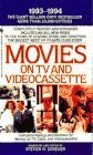 img - for Movies on TV and Videocassette, 1993-1994 by Steven H. Scheuer (October 1, 1992) Mass Market Paperback book / textbook / text book