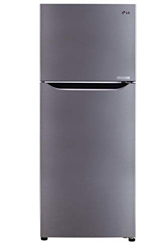 LG 260 Liters Top Mount Refrigerator with Linear Inverter Compressor, Shiny Steel – GR-C312SLBN, 1 Year Warranty