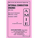 AMIE Internal Combustion Engineering MC 414 Solved Paper